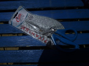 This fish scissor can be taken apart for cleaning, a bottle opener and a great scaler too!