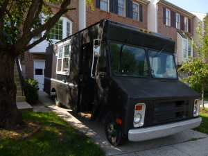 This Chevy bread delivery truck is being transformed into a food truck business.