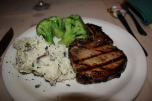 Grilled TN. Sour Mash Whiskey Pork Chop. Best chop I can ever remember!