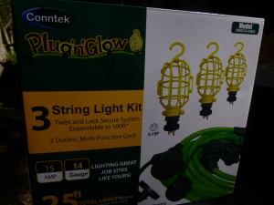 Just what I needed great plugs and lights all in one simple, high quality kit!