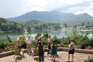 The views overlooking Lake Junaluska are quite spectacular.