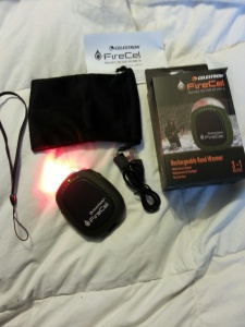 FlashLight, hand-warmer, and USB charger for so many mobile devices! This item is terrific!
