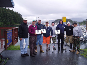 Wounded Warriors Fished Kodiac Alaska!