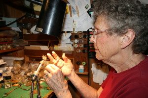 Mary Dette has tied fly's all her life and her fly's are highly sought for use and art display! This would make a great hobby, business for anyone who can tie a knot!