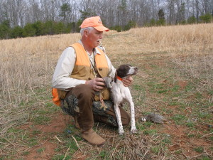 A man and his dog sharing an upland game bird hunt!