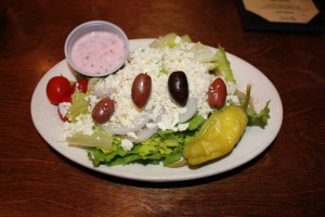 Talk about Greek salad!