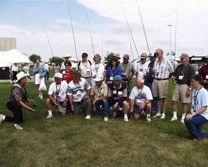 My class. Taught 400-fly casting techniques in 4-days for Camping World in Wyoming!