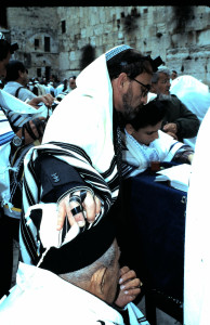 "Faith and a Bar Mitzvah at the Wall in Jerusalem. Prayer is powerful, I witnessed many miraclesin my more than a dozen visits to Israel-the ""light unto All Nations."""
