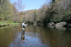 Casting on the Neversink River!