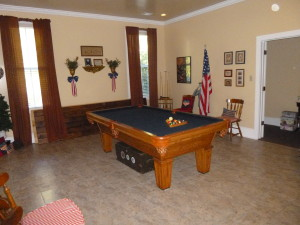 The billiard room was the Military remembrance room too!