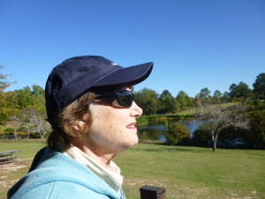 A hat and good polarized sunglasses are a pre-requisite for any outdoor adventure!