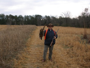 Pheasant for T.G. Day a few years ago!