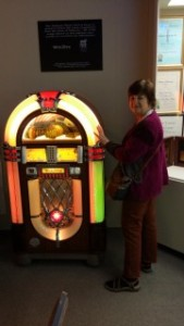 barb and wurlistzer at museum