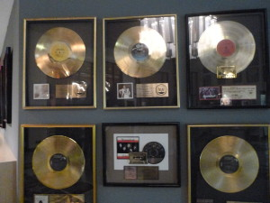 Lots of gold was mined at the FAME Studios.