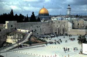 Yes, muslims built on top of Israels Wall, but Jerusalem is the Capital of Israel. The Israeli Gov't unlike what a Muslim country would and have done (destroy all vestiges of Jewish History) tolerates to the extreme the Muslim presence at their wall.