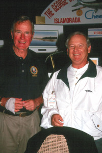 A VIP Keys fishing buddy! Pres. Bush and now gone General Norman Schwarzkopf were favorite anglers I had the pleasure of fishing with!