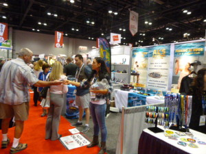 Booth 830 at the ASI Show working with business buyers!