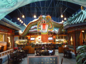 Ming Dynasty Oriental Chinese Restaurant decorated as if you are in China-gorgeous!