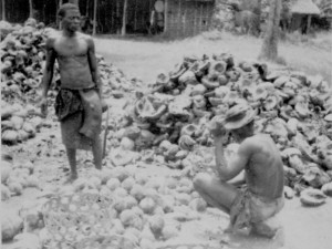 Pee'd off copra workers who did not want their images captured in Zanzibar!!