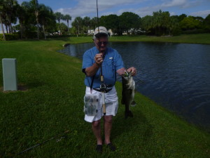 Hundreds of ponds and small lakes abound just inland of the Treasure Coast. Big largemouth bass are everywhere!