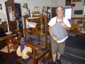 Weavers ply their crafts at Berea's new Incubator strip!