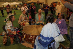 drumming up the spirits both old and new!